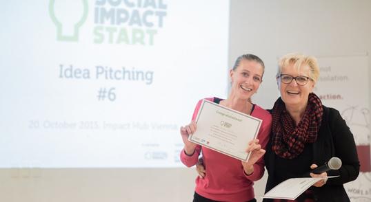 """Awards: """"Ideen Gegen Armut"""" und """"Social Impact Start"""""""