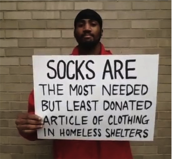 #SocksOnTour - Schüler spenden Socken