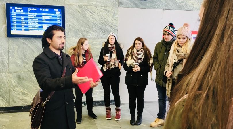 Touren geführt von Flüchtlingen